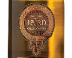 07 CHARDONNAY COLD CREEK RANCH (LAIRD FAMILY EST.