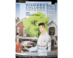 NIAGARA COLLEGE TEACHING WINERY CABERNET FRANC