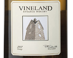 VINELAND ESTATES ELEVATION CHARDONNAY 2011