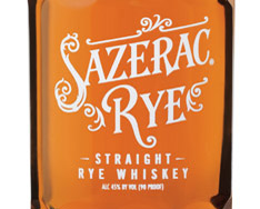 SAZERAC 6 YEARS OLD STRAIGHT RYE WHISKEY