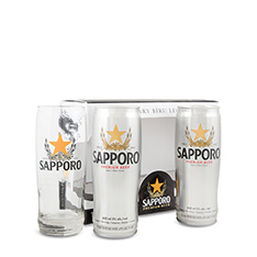 SAPPORO PREMIUM BEER HOLIDAY GIFT PACK