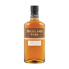 HIGHLAND PARK 21 YEARS OLD SINGLE MALT