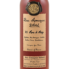 DELORD 25 YEARS OLD BAS ARMAGNAC