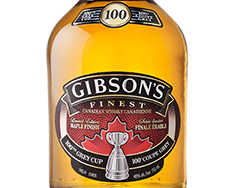 GIBSON'S FINEST 100TH GREY CUP LIMITED EDITION