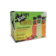 BLACK FLY TEQUILA MARGARITA PARTY PACK 12 PK-PET