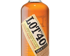 LOT NO. 40 SINGLE COPPER POT STILL CANADIAN WHISKY