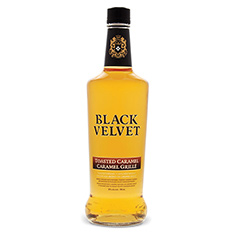BLACK VELVET TOASTED CARAMEL WHISKY BEVERAGE