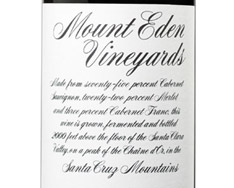 MOUNT EDEN VINEYARDS CABERNET SAUVIGNON 2006