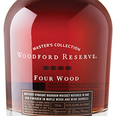 WOODFORD RESERVE MASTERS COLLECTION FOUR WOOD