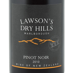 LAWSON'S DRY HILLS PINOT NOIR 2010