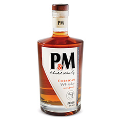 P&M BLENDED WHISKY