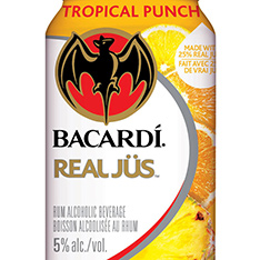 BACARDI REAL JUS TROPICAL PUNCH