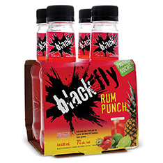 BLACK FLY RUM PUNCH
