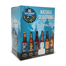 NATURAL SELECTION BC CRAFT BREWERS SAMPLER PACK