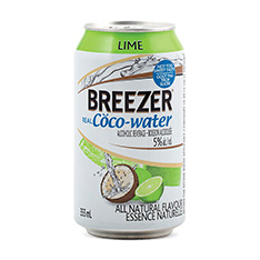 BREEZER REAL COCO-WATER LIME