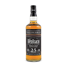 BENRIACH 25YO SINGLE MALT SCOTCH