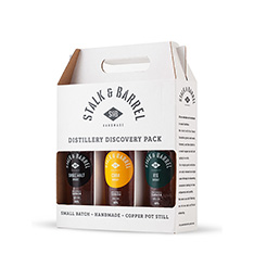STALK & BARREL DISTILLERY DISCOVERY PACK 3X375ML