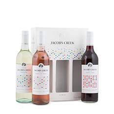 JACOB'S CREEK TRIPLE GIFT PACK (3X750ML)**
