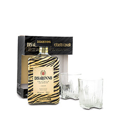 DISARONNO ROBERTO CAVALLI LTD ED BOTTLE GFT**