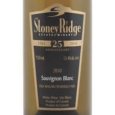 STONEY RIDGE SAUVIGNON BLANC 2010