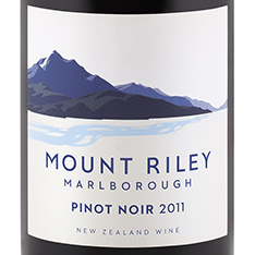 MOUNT RILEY PINOT NOIR 2012