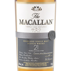THE MACALLAN FINE OAK 21 YEARS OLD HIGHLAND SINGLE MALT