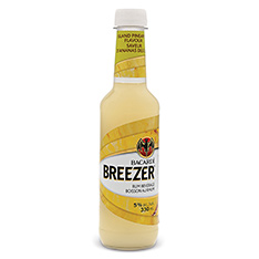 BACARDI BREEZER ISLAND PINEAPPLE