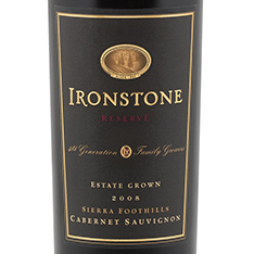 IRONSTONE RESERVE ESTATE GROWN CABERNET SAUVIGNON 2012